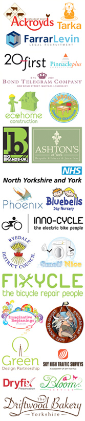 A list of York Graphic Designers clients