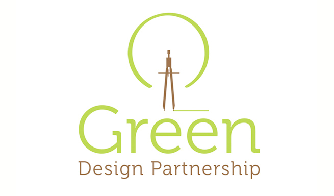 new vector logo we design for Green Design Partnership