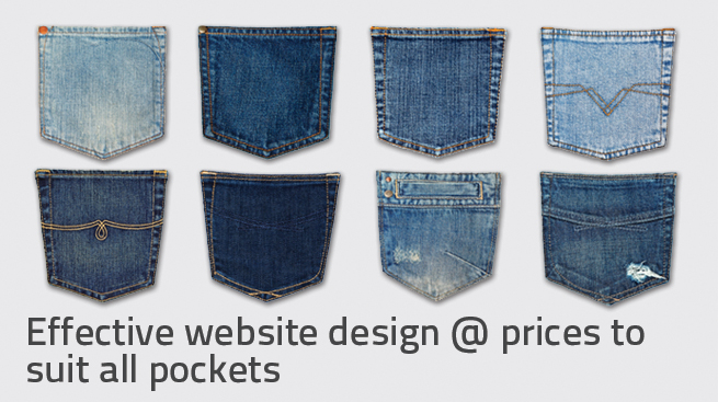 websites priced to suit all pockets