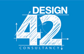 The logo we designed for Design 42